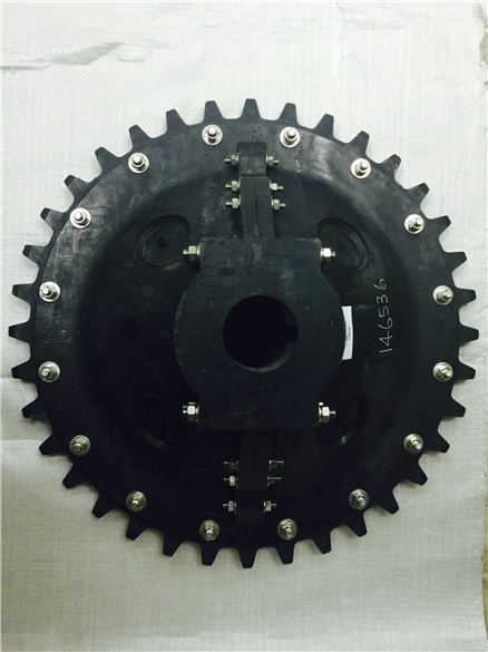 Sprocket for filter system